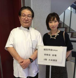 似田先生とツーショット
